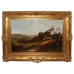 """""""A Tranquil Valley"""" Oil by Joseph Thors"""