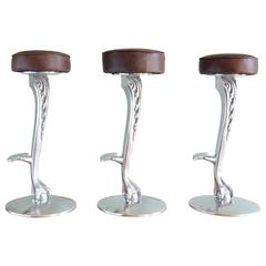 Claw and Ball Bar Stools