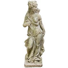 Cast  Stone Figure  of Diana