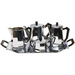 Carlo Alessi Art Deco Tea and Coffee Service