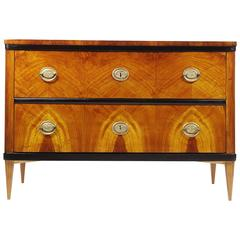 Biedermeier Two-Drawer Commode