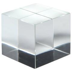 Crystal Desk Cube by Tiffany & Co.