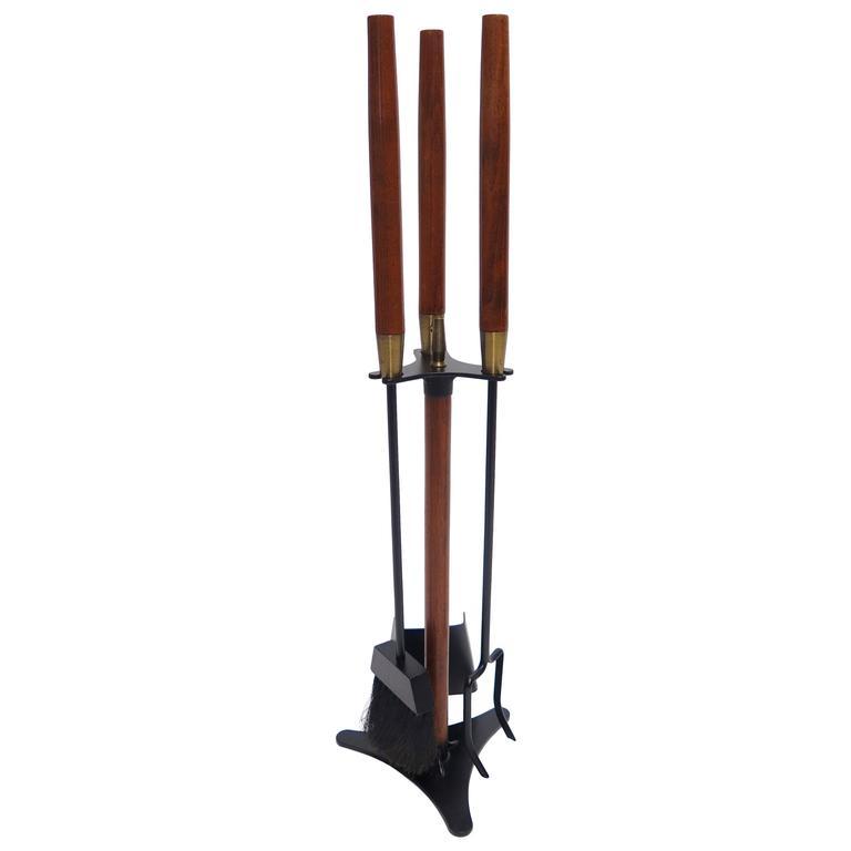 seymour and company fireplace tool set at 1stdibs