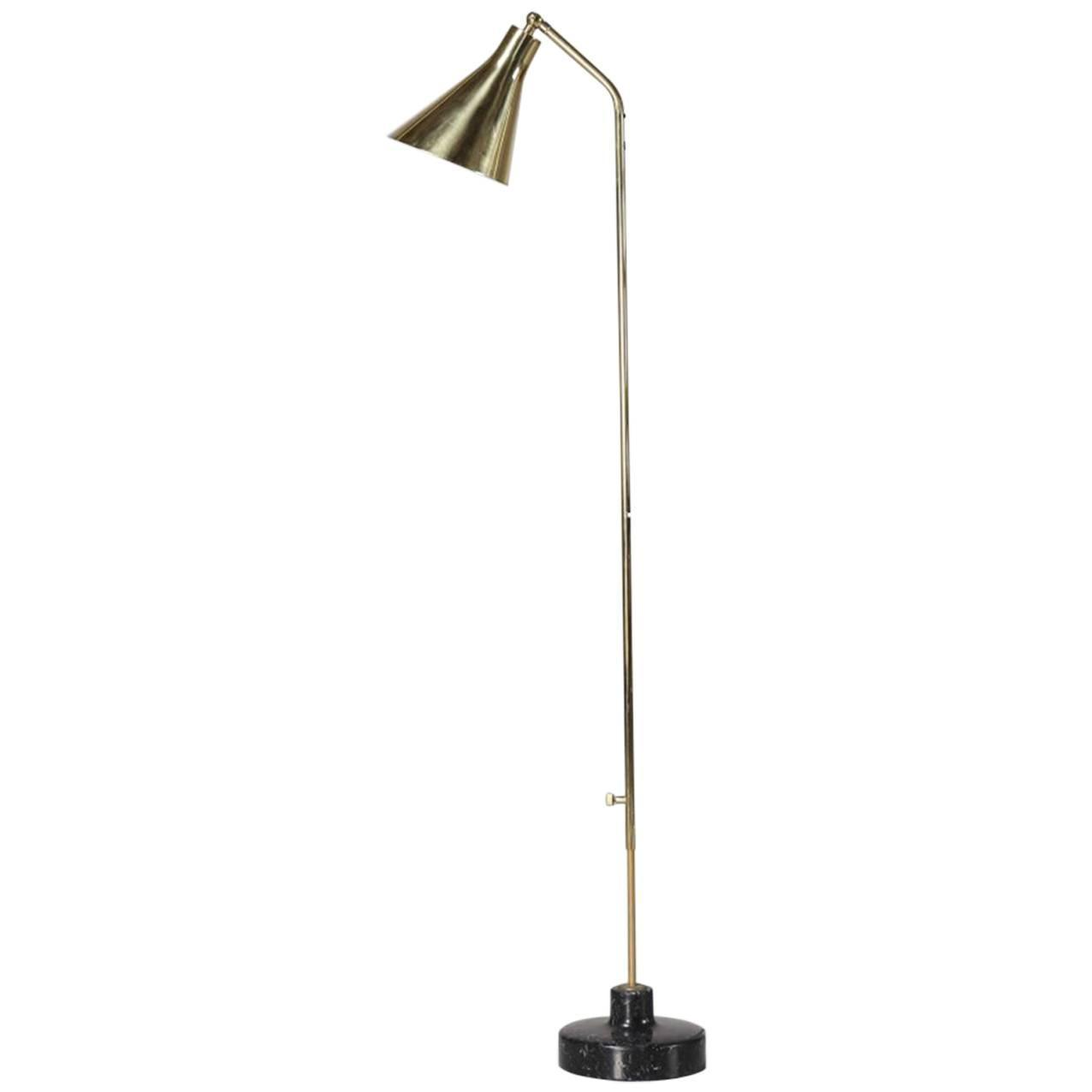 Floor lamp by ignazio gardella azucena milano circa 1950 for 1950 floor lamp