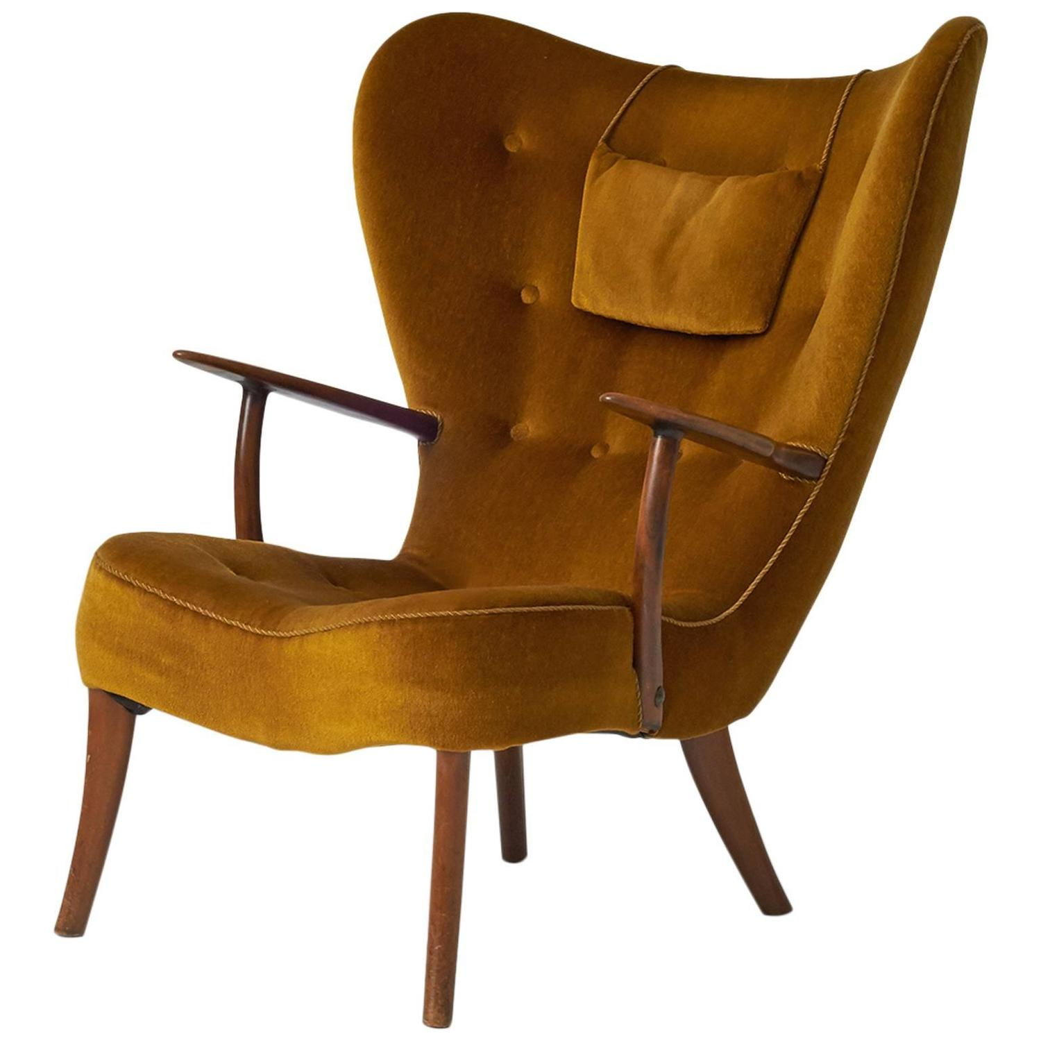 Awesome Acton Schubell And Ib Madsen Lounge Chair