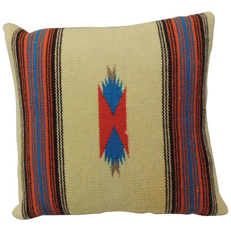 Vintage Navajo Style Indian Decorative Pillow