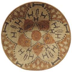 Monumental Southwestern Round Basket