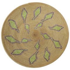 Vintage Round Decorative Basket
