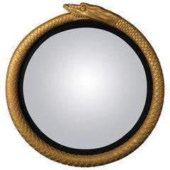 Serpent Convex Mirror in the Regency manner