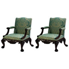 Library Chair in the George II manner