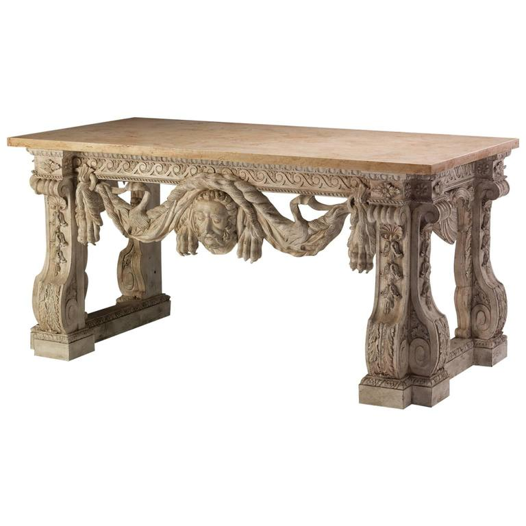 Console Table in the manner of Matthias Lock