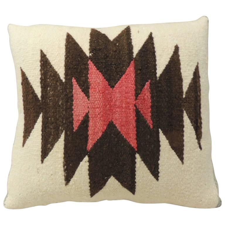 Vintage Southwestern Eye-Dazzler Pillow at 1stdibs