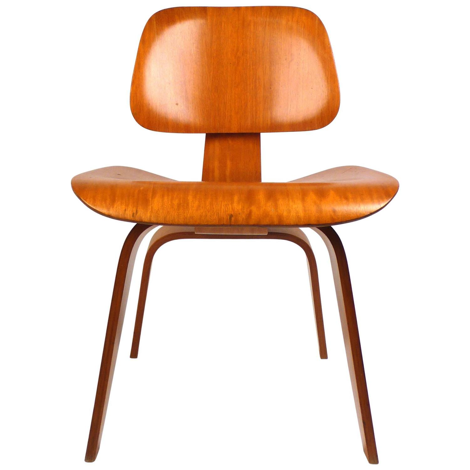 Evans Plywood Chair DCW By Charles Eames 1940s For Sale At 1stdibs