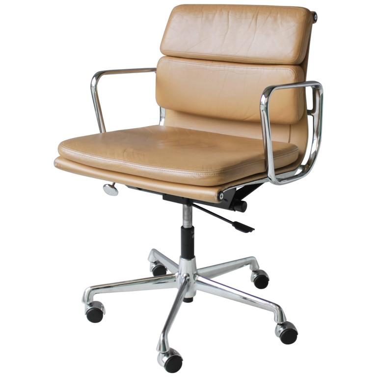 ea soft pad chair eames office reproduction style 2 cushion white management used
