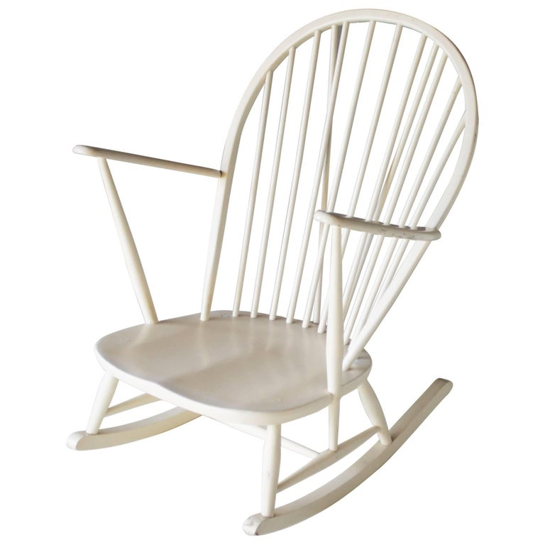 Rocking Chair by Lucian Ercolani for Ercol For Sale