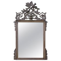 French Louis XV Style Mirror with Kissing Birds