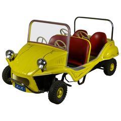 Carousel Ride Metal Beach Buggy Car
