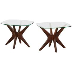 Pair of 'Jacks' End or Side Tables by Adrian Pearsall