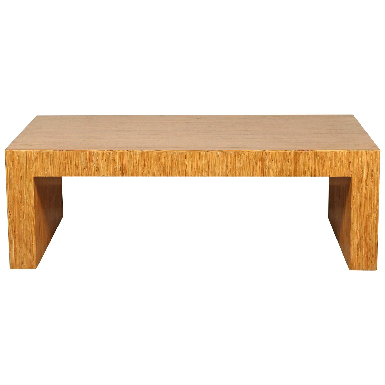 bamboo waterfall coffee table at 1stdibs