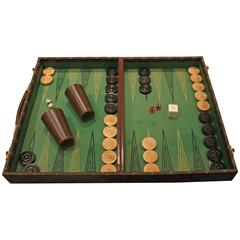 Rare Louis Vuitton Backgammon Set, circa 1970