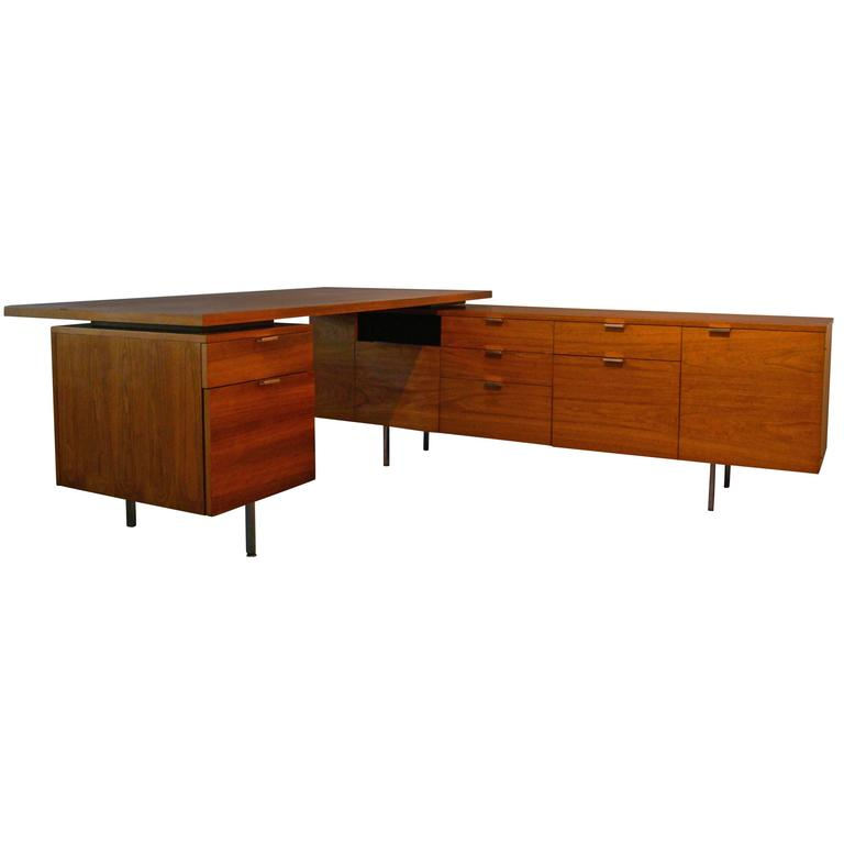 george nelson design for herman miller executive desk usa at 1stdibs