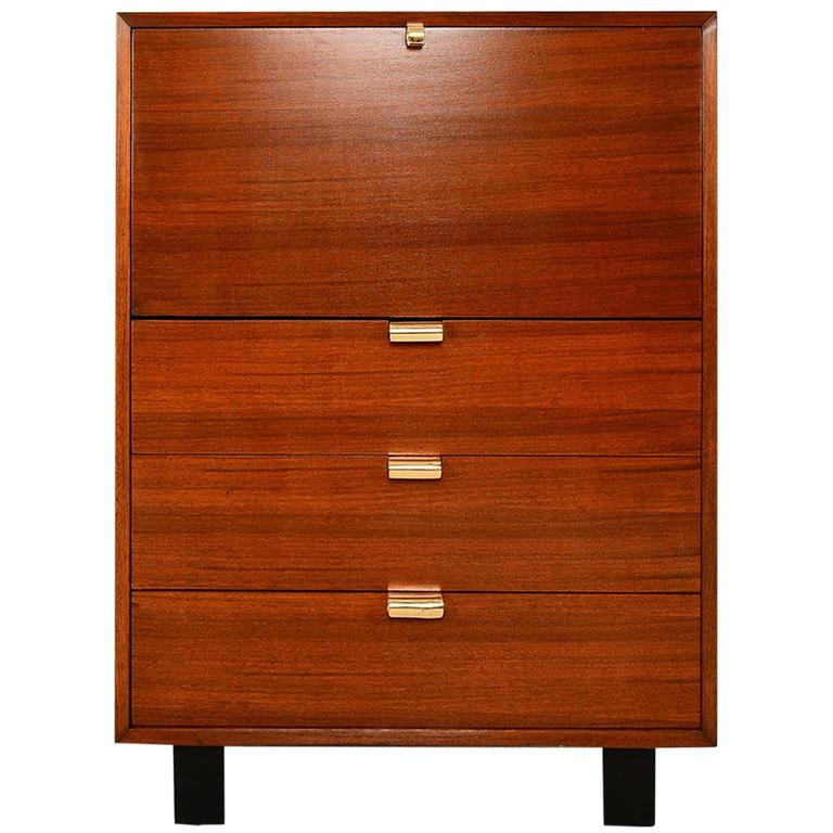 George Nelson Secretary Chest By Herman Miller At 1stdibs