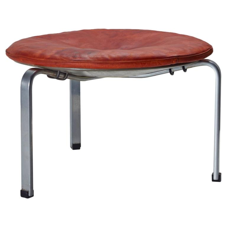 Poul Kjærholm PK 33 Stool for E. Kold Christensen, Original Condition, 1959
