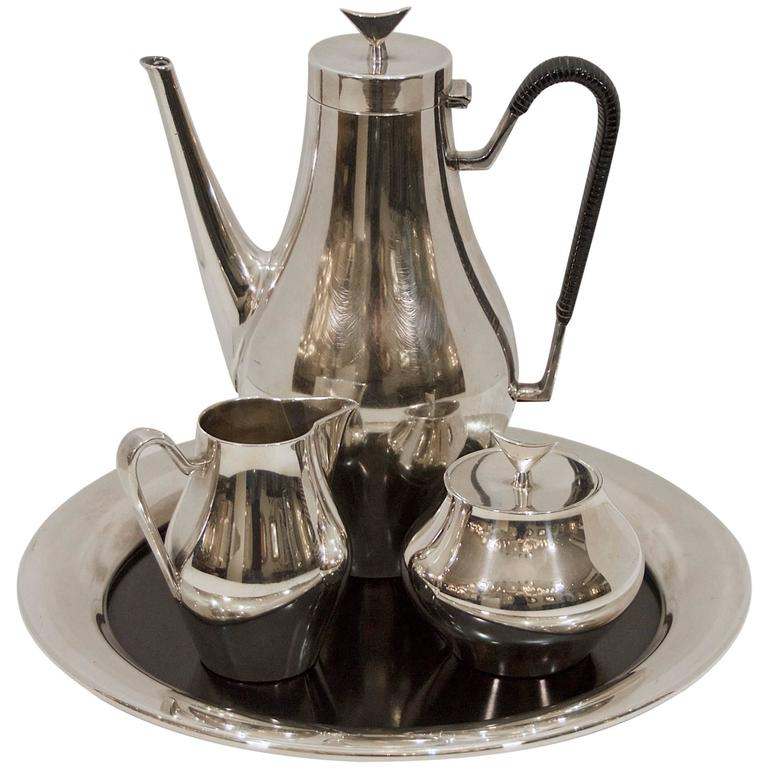 "Reed & Barton ""Denmark"" Coffee Service with Tray"