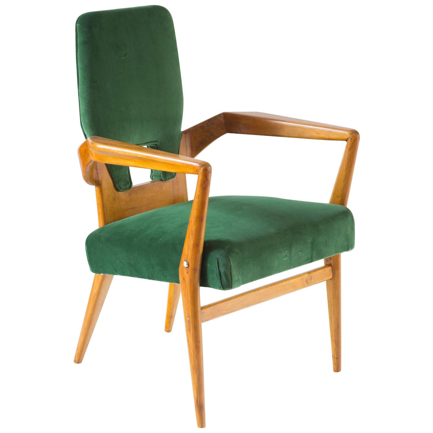Sculptural Armchair Attributed To Augusto Romano, Unique Piece, Circa 1952  At 1stdibs