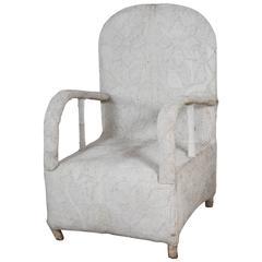 White African Beaded Yoruba Chair from Nigeria