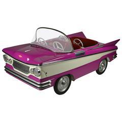 Sweet Sixties Convertible Buick Carousel Car