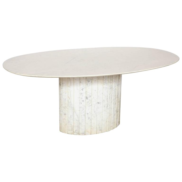 Oval Marble Dining Table at 1stdibs : 3292193l from www.1stdibs.com size 768 x 768 jpeg 13kB