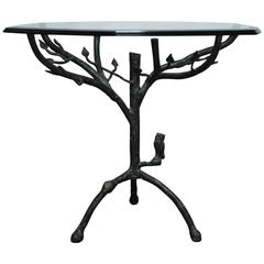 Giacometti Inspired Tree Pedestal Table