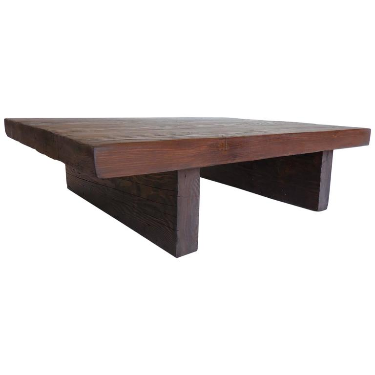 Modern primitive coffee table for sale at 1stdibs for Modern coffee table sale