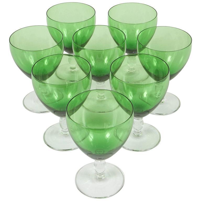 Vintage Green Glasses 30