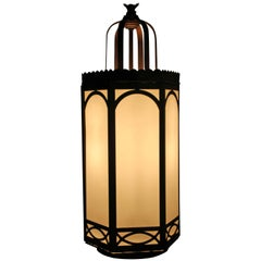 Gothic Cathedral Style Hanging Lamp