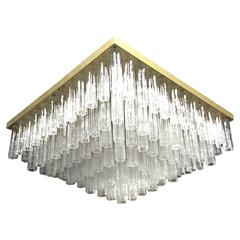 Grand Five-Tier Tronchi Chandelier, Mid Century