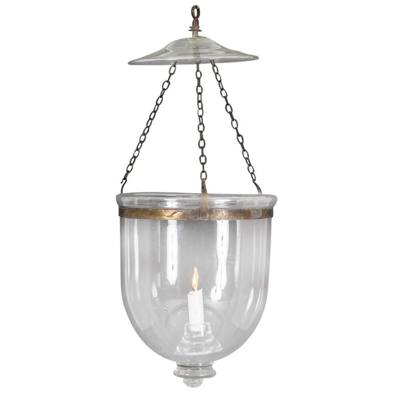 Glass Lantern 19th Century For Sale At 1stdibs