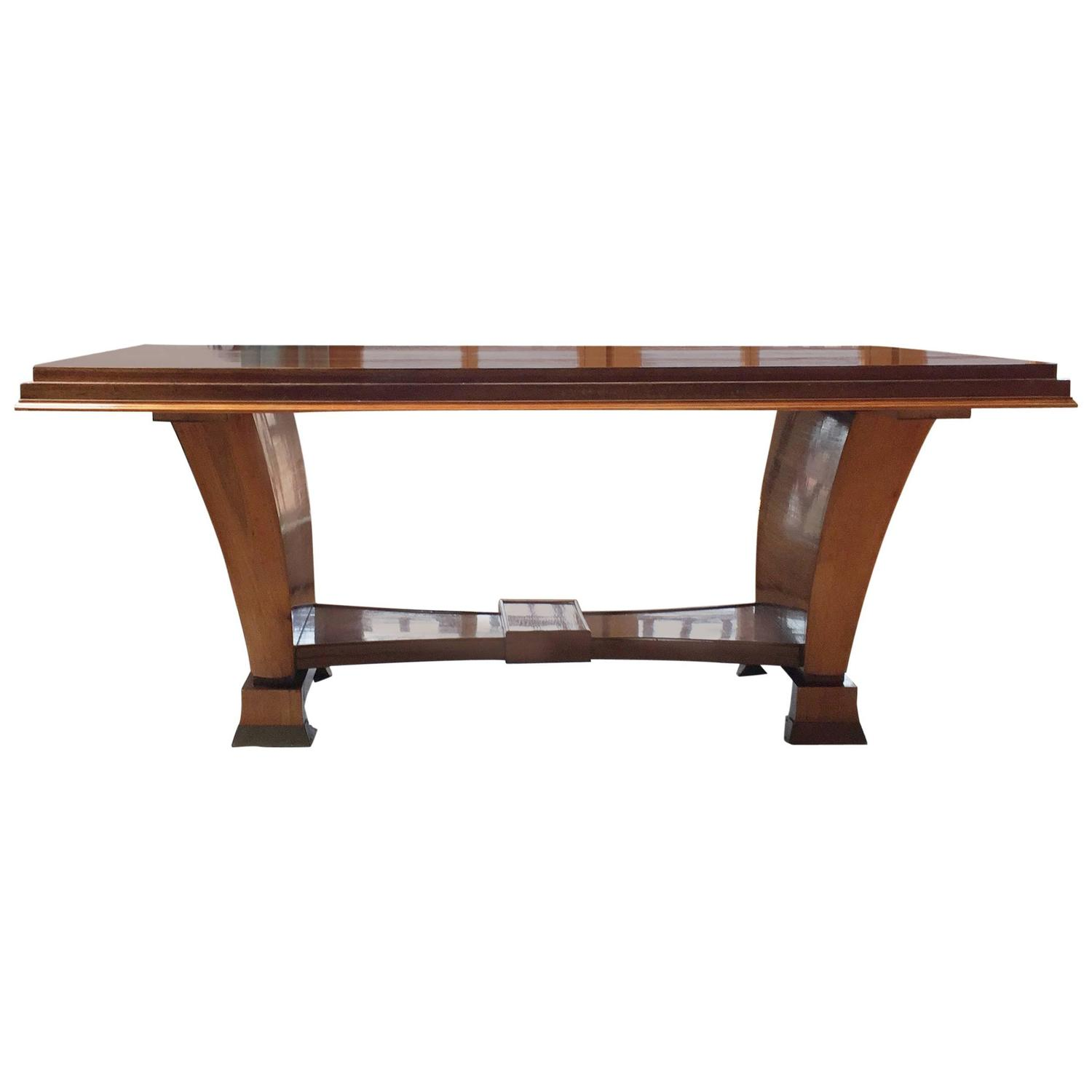 Beautiful Art Deco Dining Table At 1stdibs