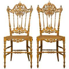 Pope Leo XIII Chiavari Chairs