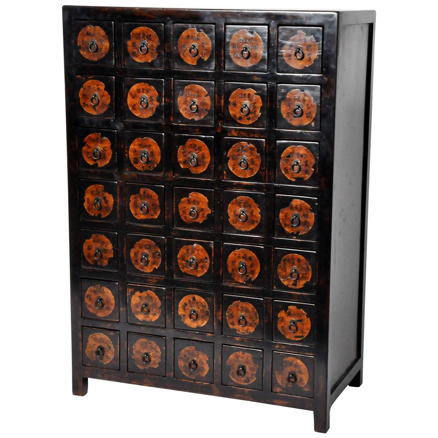 Chinese Apothecary Cabinet For Sale at 1stdibs