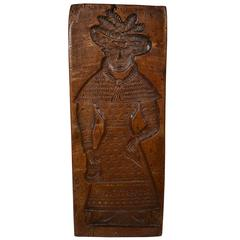 19th Century, Double-Sided Wooden Gingerbread Mold
