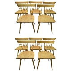 Excellent Set of Ten Paul McCobb Planner Group Dining Chairs Mid-Century Modern