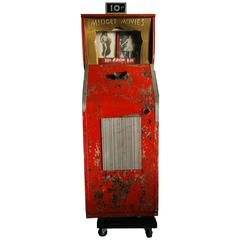 Art Deco Midget Movie Machine, Capitol Projector Corporation