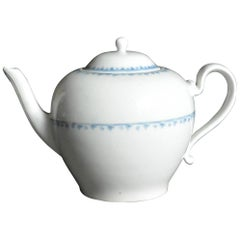 Blue and White Vienna Porcelain Teapot