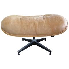 Charles Eames Herman Miller Leather Ottoman 671