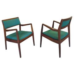 "Pair of Jens Risom ""Playboy"" Armchairs"
