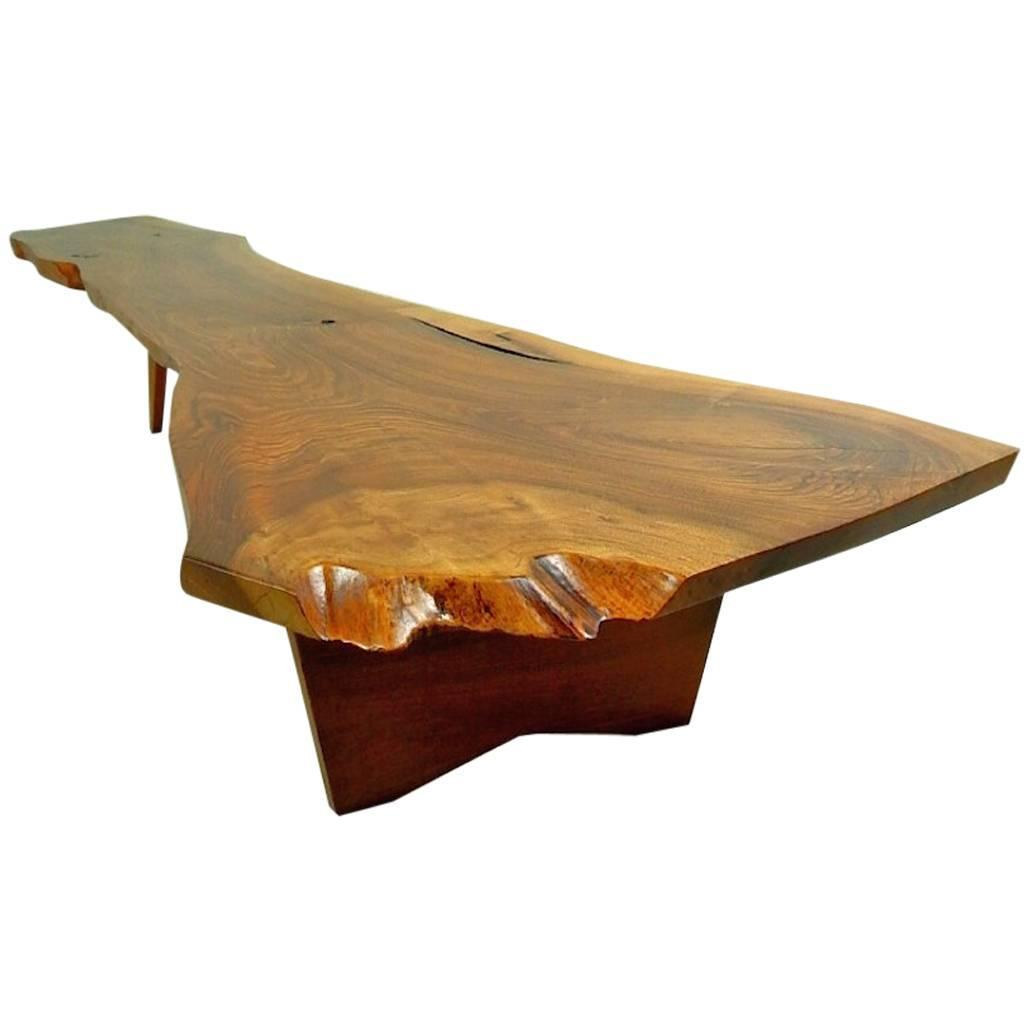 Walnut Coffee Table By George Nakashima For Sale At 1stdibs