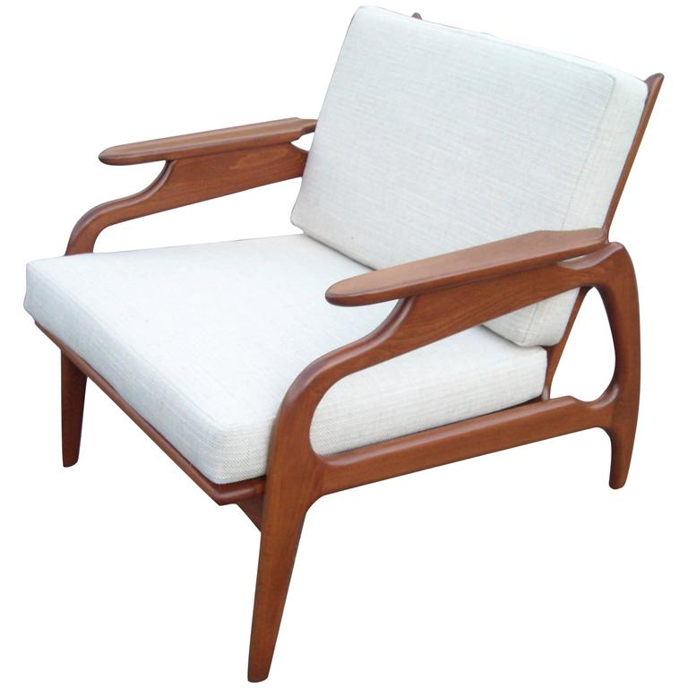 Charmant Adrian Pearsall Armchair Or Lounge Chair, Organic Design For Sale