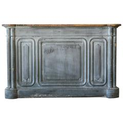 Antique French Store Counter, circa 1880